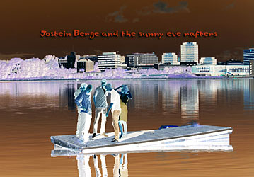 Jostein Berge and the sunny eve rafters