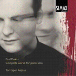 Tor Espen Aspaas: Paul Dukas. Complete Works for piano (cover) (150x150)