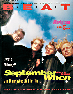 I 1990 besto The September When av Morten Abel, Helge Hummervoll, Stene Osmundsen, Gulleiv Wee og Morten Mølster (Beat)
