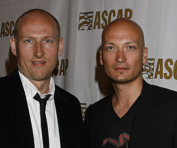 Stargate's Tor Hermansen and Mikkel Eriksen (photo by Wireimage/Jeffrey Mayer)