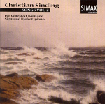 Per Vollestad and Sigmund Hjelset: (cover) Sinding Songs, vol 2 (150x150)